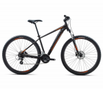 Велосипед Orbea MX 27 50 L Black - Orange (2018)