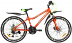Велосипед сталь Premier Dragon 24 Disc 13'' 2018 Red