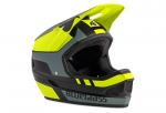 Шлем Bluegrass LEGIT black fluo yellow gray/matt