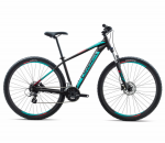 Велосипед Orbea MX 27 50 L Black - Turquoise - Red (2018)