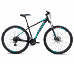 Велосипед Orbea MX 29 50 L Black - Turquoise - Red (2018)
