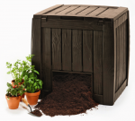 Keter Компостер садовый DECO COMPOSTER WITH BASE 340 L (3253929000171)