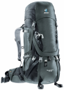 Deuter Рюкзак Aircontact 45+10 цвет 4700 granite-black
