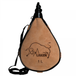 Фляга Laken Leather canteen straight form