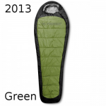 Спальник Trimm IMPACT kiwi green / dark grey (зеленый) 185 L