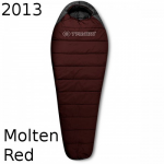 Спальник Trimm WALKER molten red / dark grey (красный) 195 L