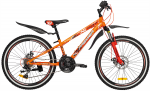 Велосипед сталь Premier Pirate 24 Disc 11'' 2018 Orange