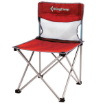 KingCamp Compact Chair in Steel M(KC3832) Red, стул