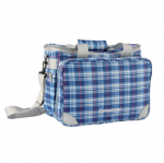 KingCamp Picnic Icy Bag 3(KG2708P) Blue CHECKERS, набор для пикника