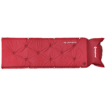 KingCamp Point Inflatable Mat(KM3505) Wine red, самонадувной коврик