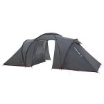 Палатка High Peak Como 6 (Dark Grey/Red)