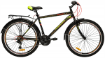 Велосипед сталь Premier Texas 26 V-brake 18'' Black - Yellow (2018)